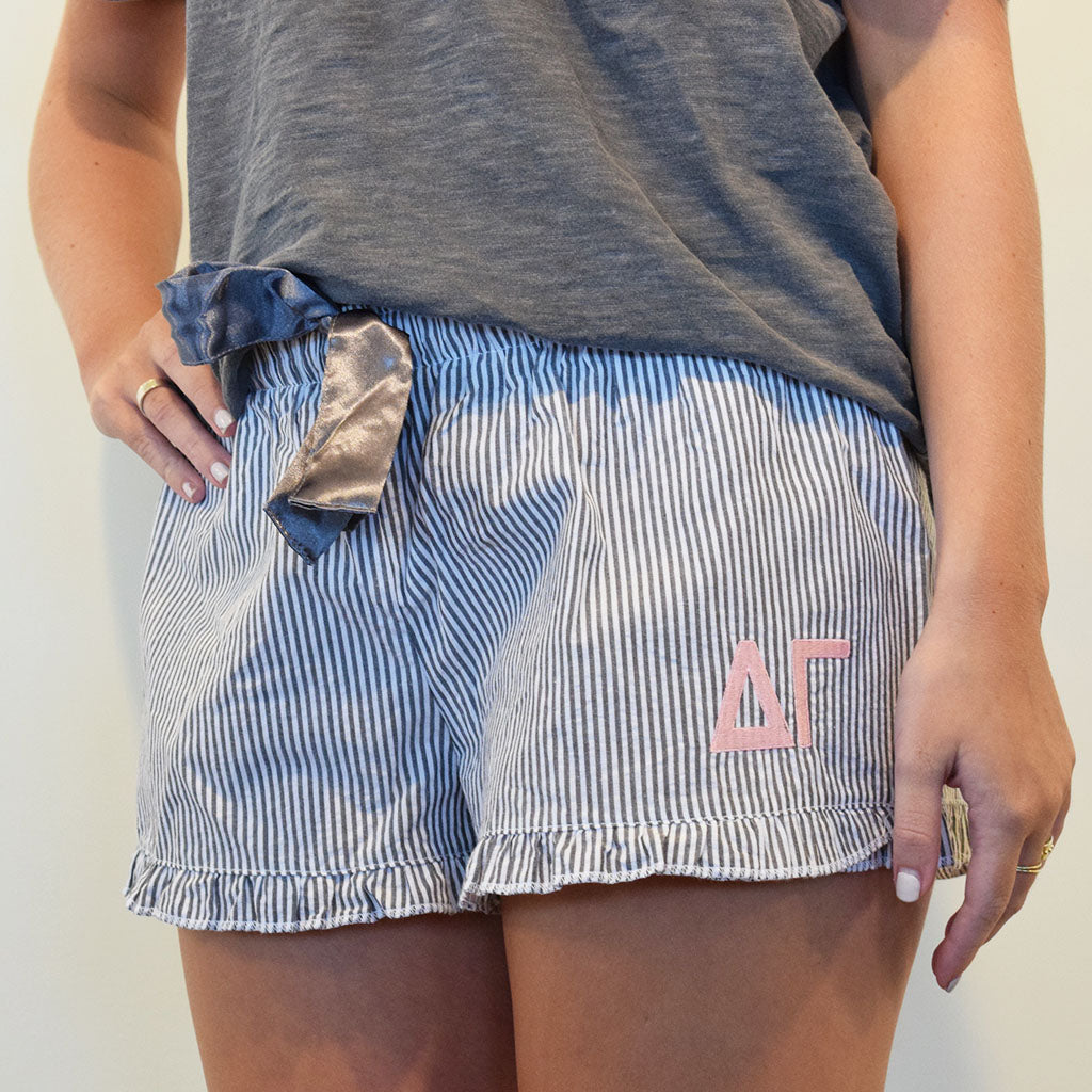 Sorority Sleep Shorts- Delta Gamma