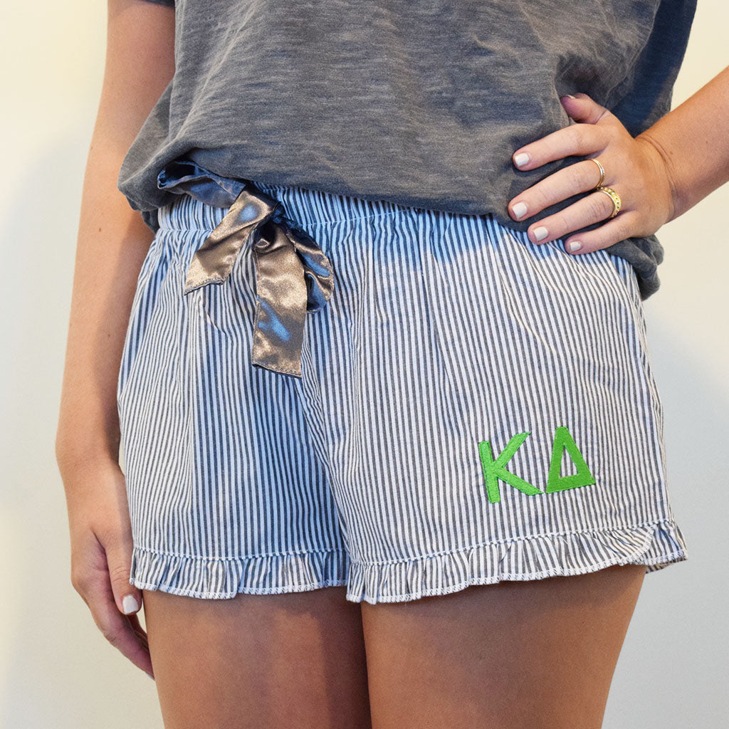 Sorority Sleep Shorts- Kappa Delta