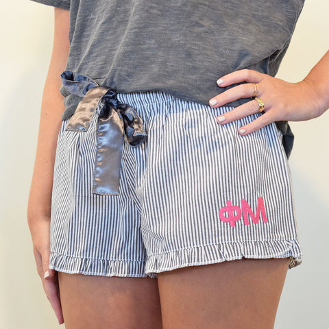 Sorority Sleep Shorts- Phi Mu