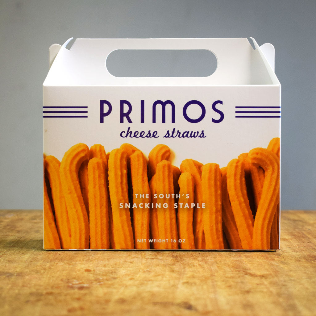 Primos Cafe Cheese Straw Box