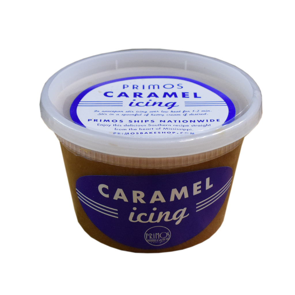 Primos Cafe Caramel Icing - TheMississippiGiftCompany.com