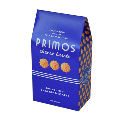 Primos Cafe Cheese Bursts - TheMississippiGiftCompany.com
