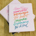 Inspirational Word Script Journal