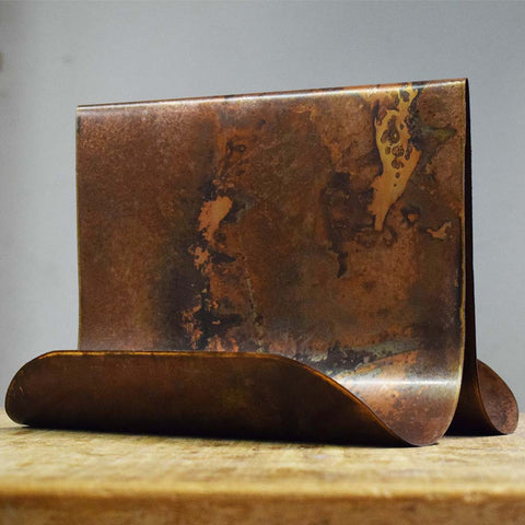 Copper Recipe Book Holder- Classic - TheMississippiGiftCompany.com