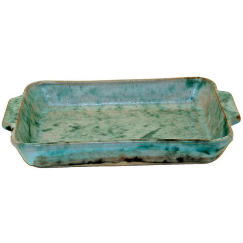 Rectangle 8.5X12 Casserole Jade - TheMississippiGiftCompany.com