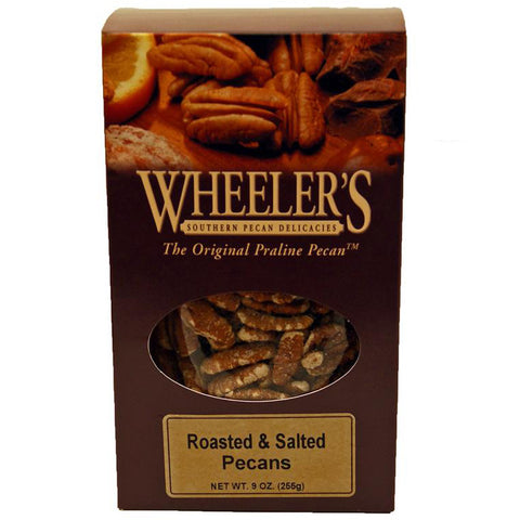 Roasted and Salted Pecans- 10oz - TheMississippiGiftCompany.com