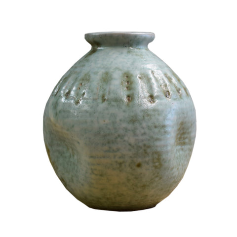 "7.5"" Round Ball Vase Jade - TheMississippiGiftCompany.com"