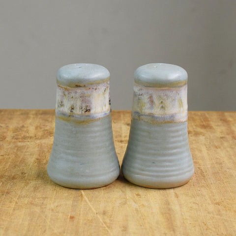 Salt and Pepper Set- Peaceful - TheMississippiGiftCompany.com