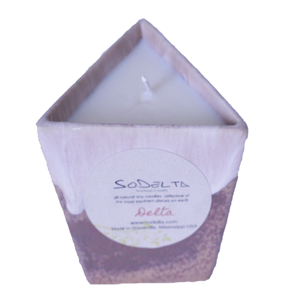 SoDelta Delta Cup Candle - TheMississippiGiftCompany.com