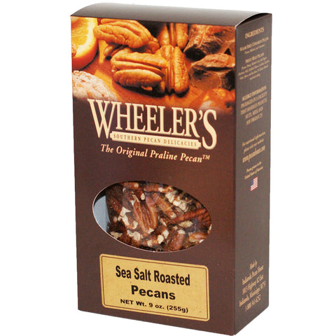 Sea Salt Roasted Pecans 10oz - TheMississippiGiftCompany.com