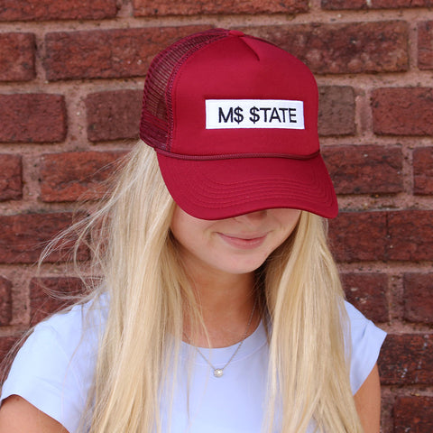 M$ $tate Trucker Hat