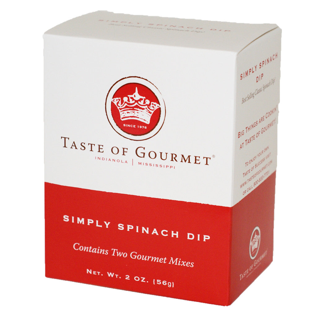 Simply Spinach Dip - TheMississippiGiftCompany.com