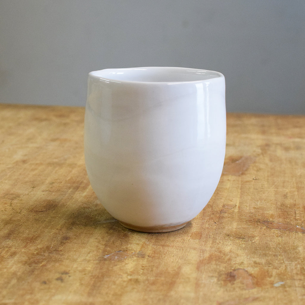Stemless Simply White - TheMississippiGiftCompany.com