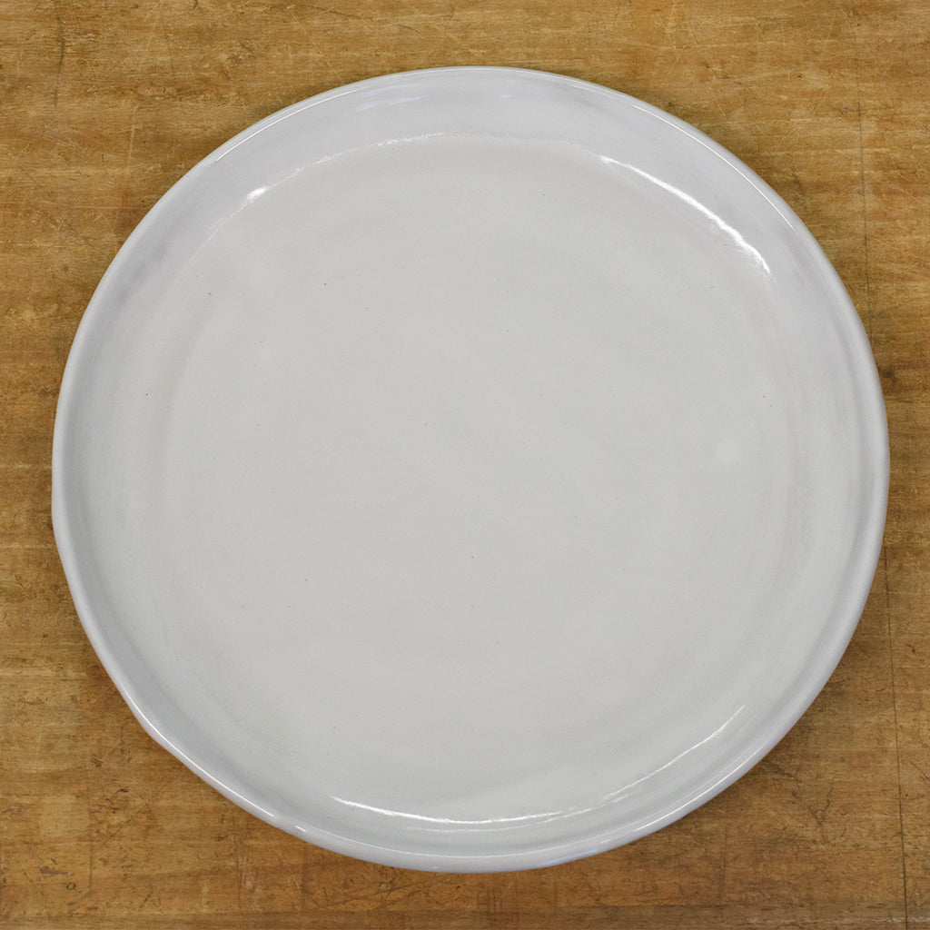 Townhouse Simply White Round Dinner Plate