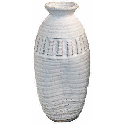 http://WWW.THEMISSISSIPPIGIFTCOMPANY.COM/Peter-s-11-Inch-Skinny-Vase-White.aspx