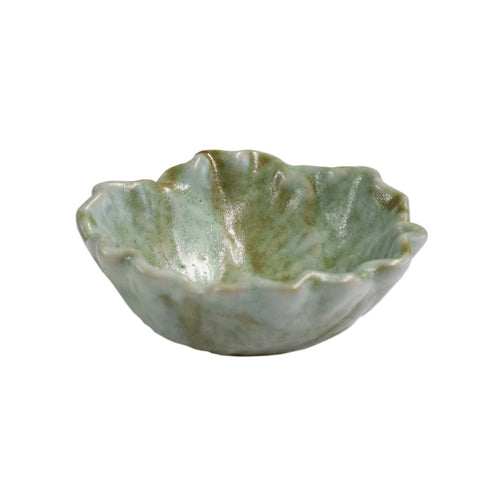 Small Cabbage Bowl Jade - TheMississippiGiftCompany.com