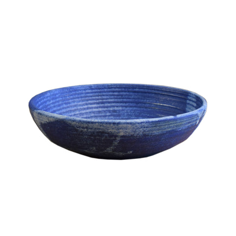 Small Gumbo Bowl Blue - TheMississippiGiftCompany.com