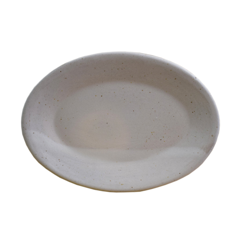 Small Oval Platter White