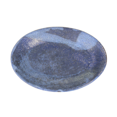 Small Oval Platter Blue - TheMississippiGiftCompany.com