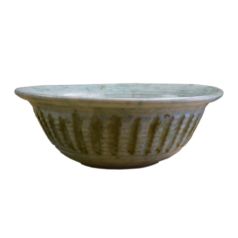 Small Potato Chip Bowl Jade - TheMississippiGiftCompany.com