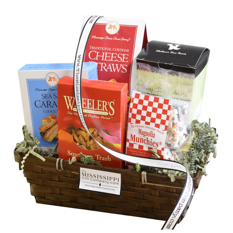 Small Mississippi Munchies Gift Basket