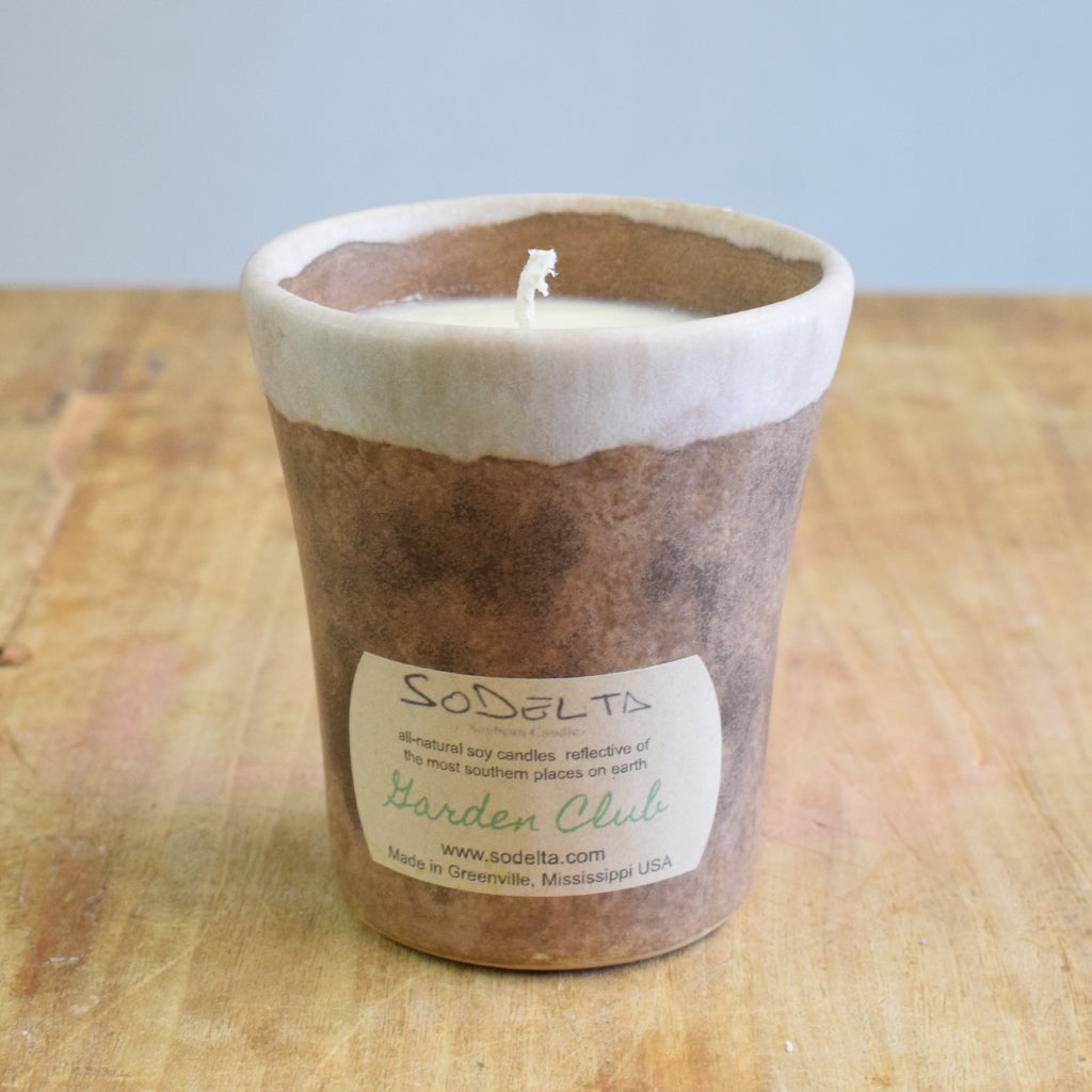 Mint Julep Candle Cup