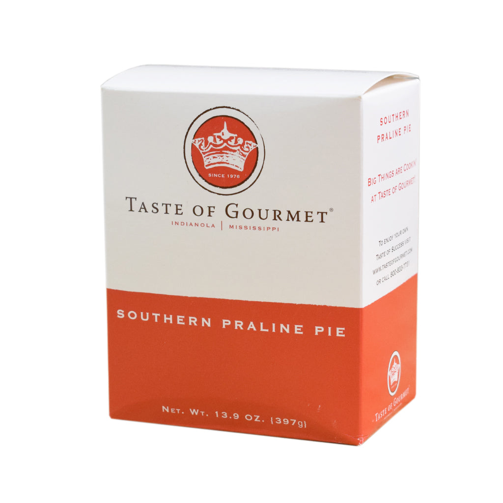 Southern Praline Pie - TheMississippiGiftCompany.com