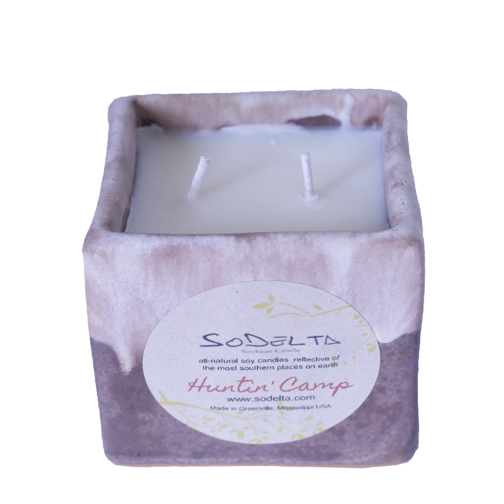 Square Candle - TheMississippiGiftCompany.com