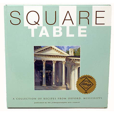 Square Table Cookbook - TheMississippiGiftCompany.com