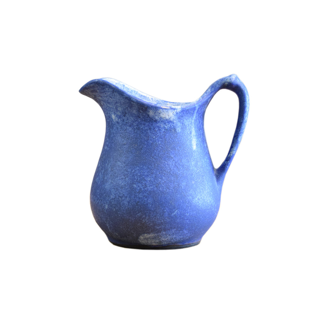 Medium Syrup Pitcher Blue