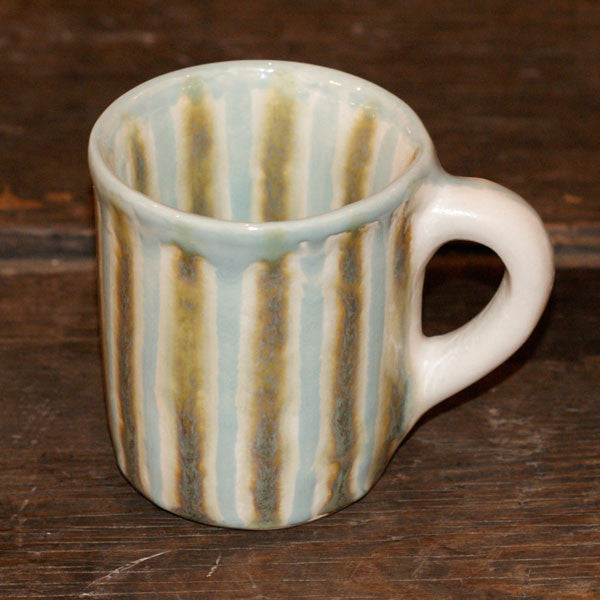 Teal Barrel Mug - TheMississippiGiftCompany.com