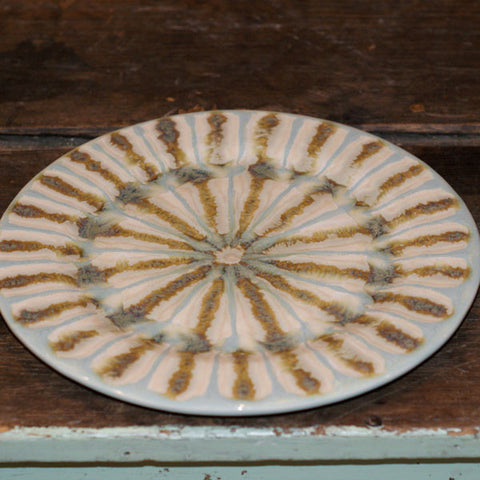 Teal Dinner Plate - TheMississippiGiftCompany.com