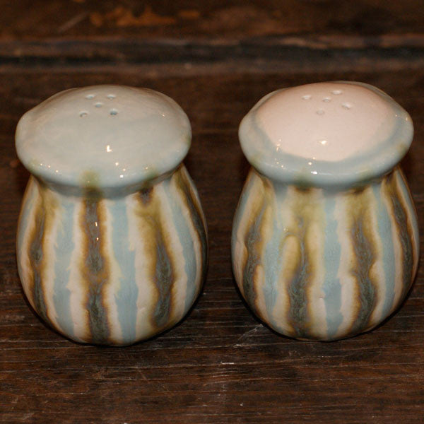 Teal Salt and Pepper Shakers - TheMississippiGiftCompany.com