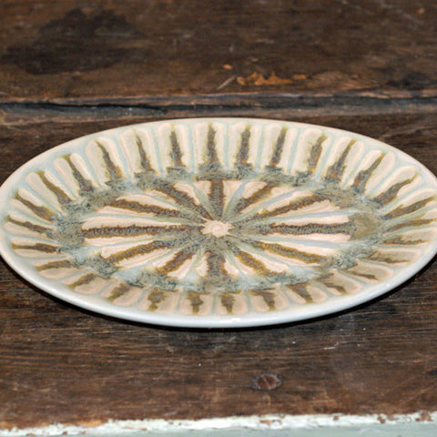 Teal Small Oval Platter - TheMississippiGiftCompany.com