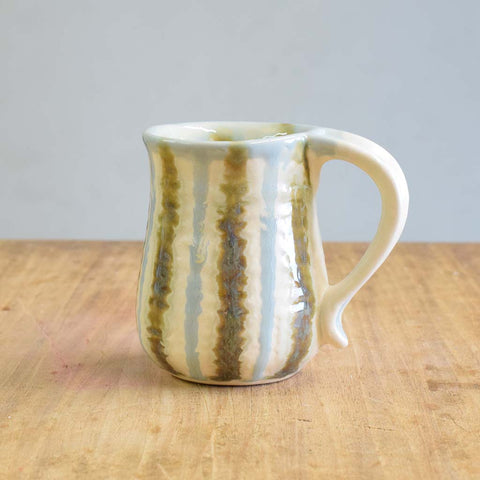 Teal Curved Mug - TheMississippiGiftCompany.com
