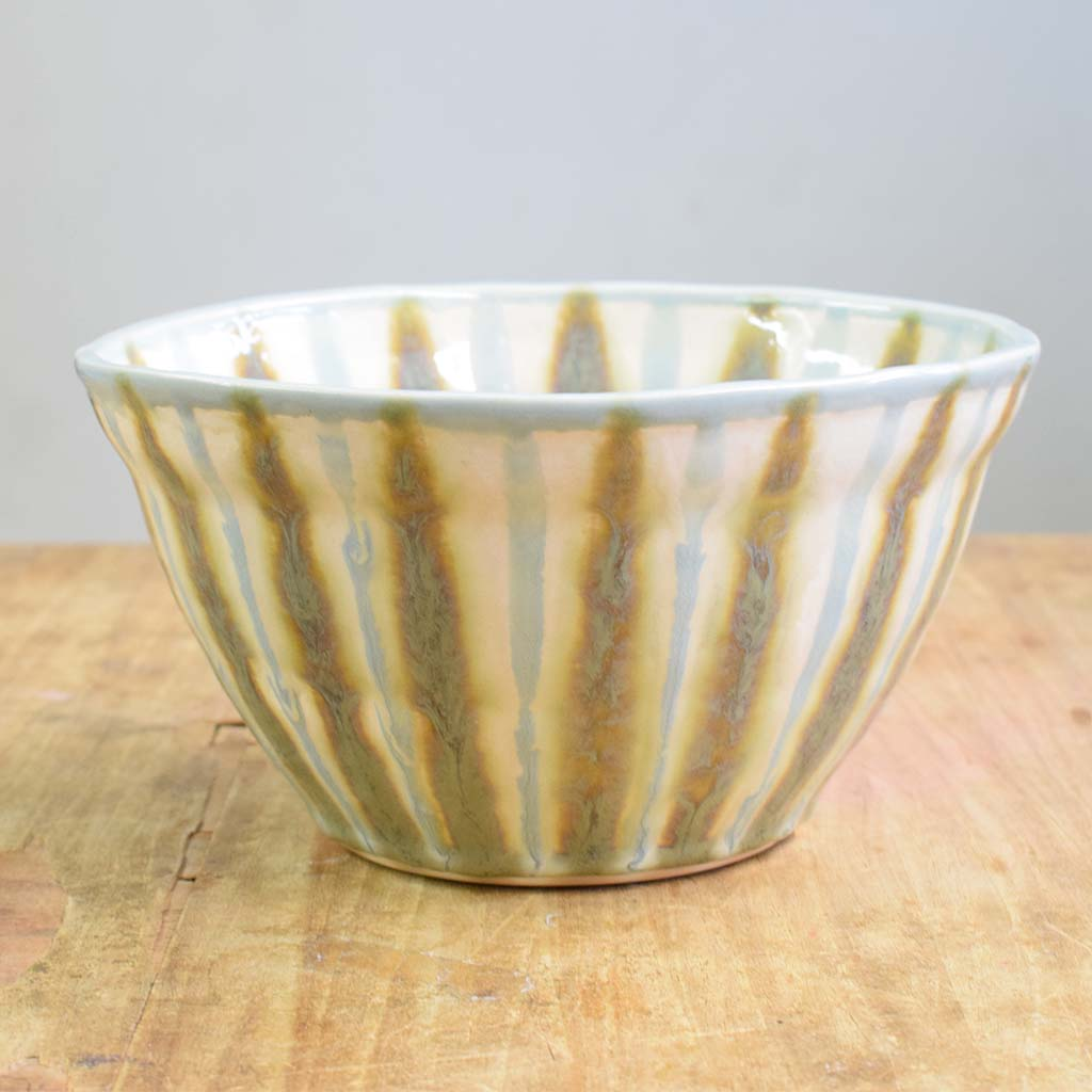 Teal Medium Serving Bowl - TheMississippiGiftCompany.com