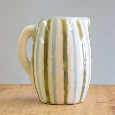 Teal Pitcher - TheMississippiGiftCompany.com