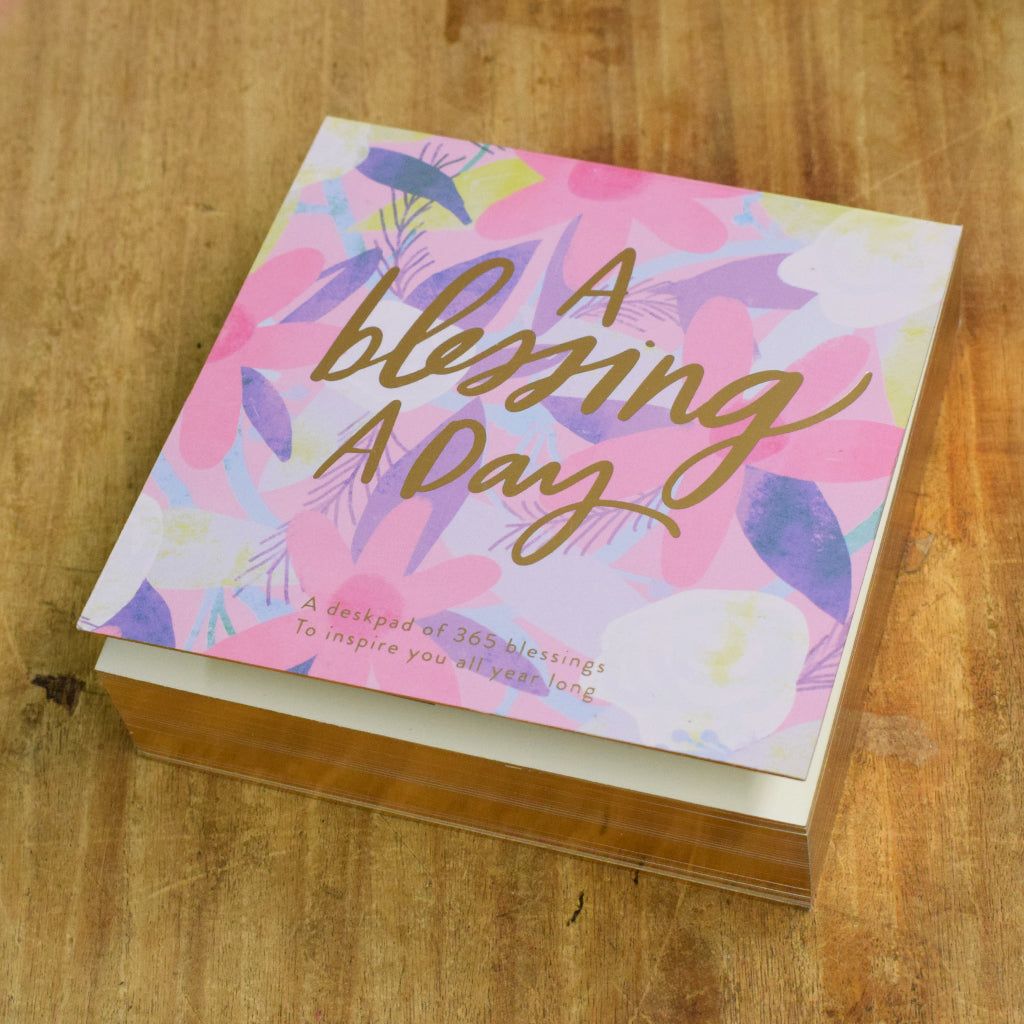 A Blessing A Day Deskpad - TheMississippiGiftCompany.com