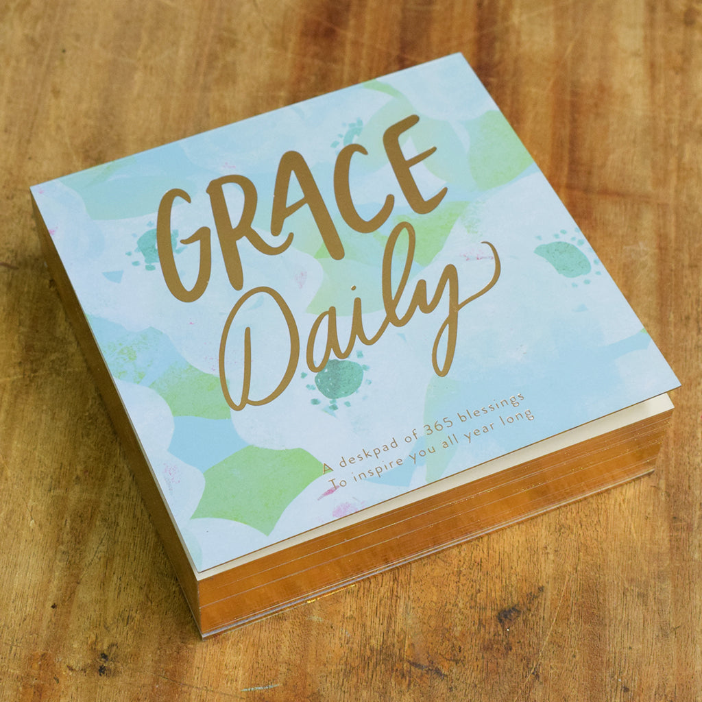 Grace Daily Deskpad - TheMississippiGiftCompany.com
