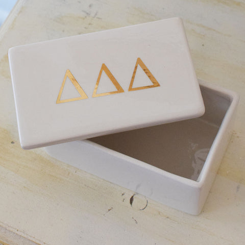 Sorority Rectangle Pin Box