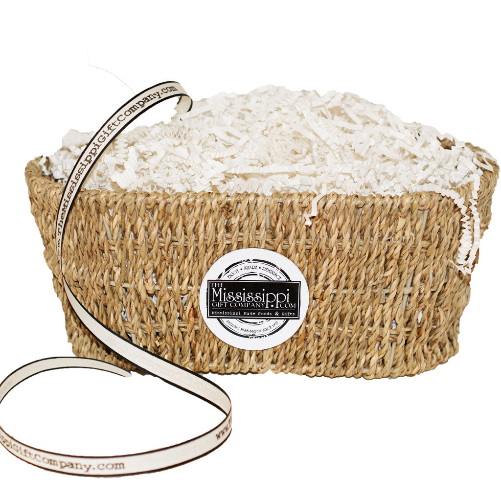 Unfilled Small Mississippi Munchies Basket - TheMississippiGiftCompany.com