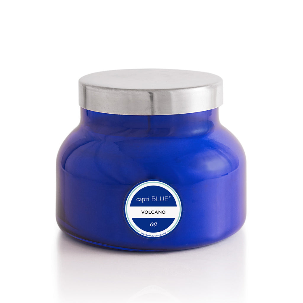 Volcano Signature Jar- Blue - TheMississippiGiftCompany.com
