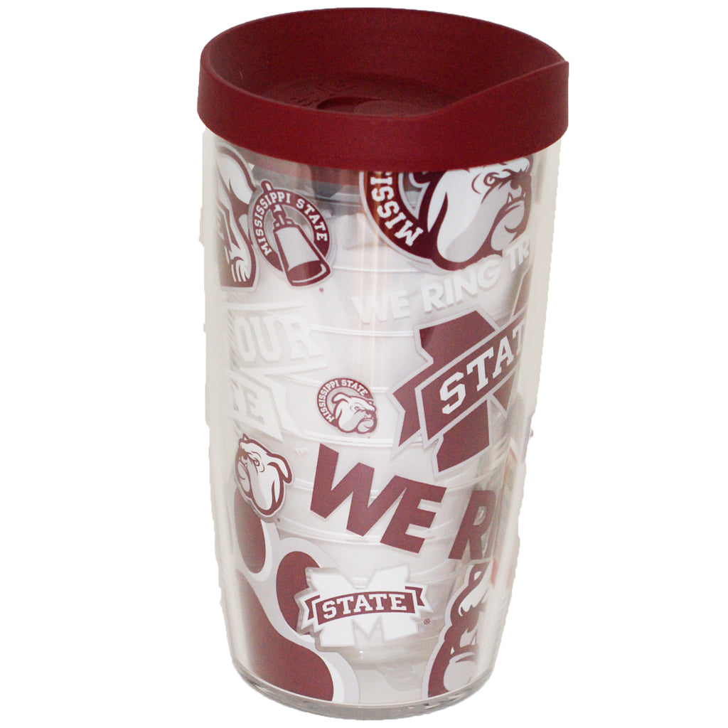 MSU 16oz Wrap Around Tervis Tumbler - TheMississippiGiftCompany.com