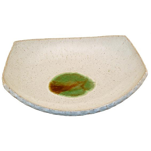 Free Form Platter White - TheMississippiGiftCompany.com