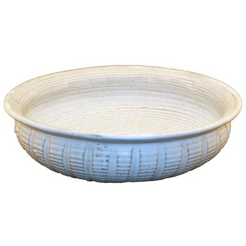 Pasta Bowl White - TheMississippiGiftCompany.com