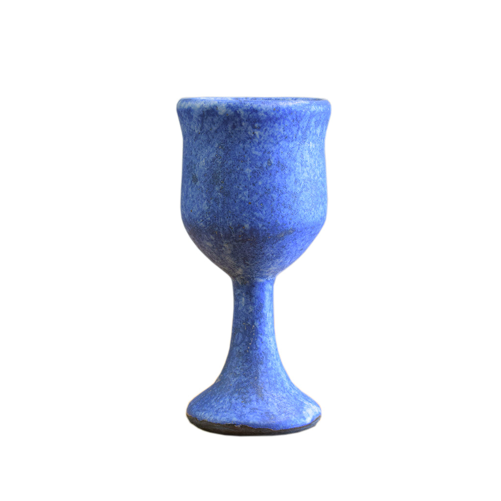 Wine Goblet Blue - TheMississippiGiftCompany.com