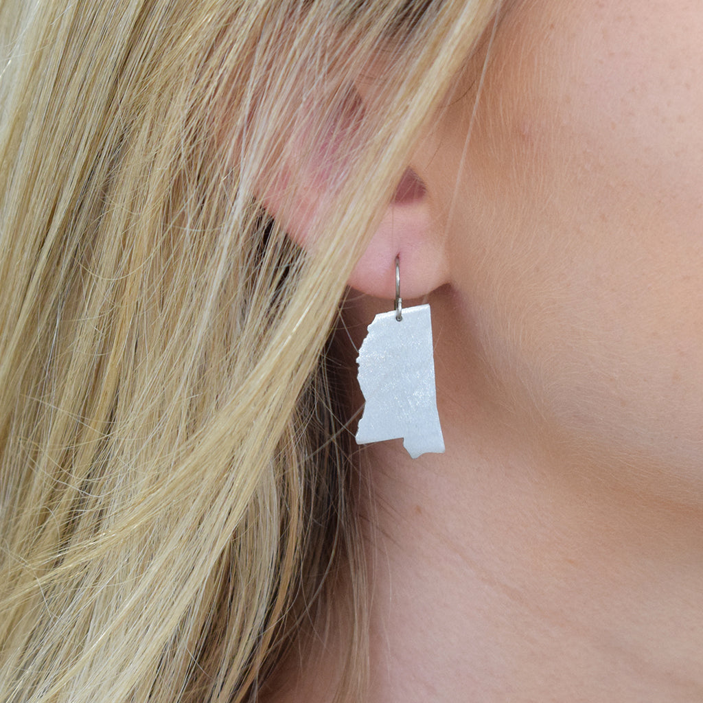 Willcoxon Wearables Earrings-Mississippi