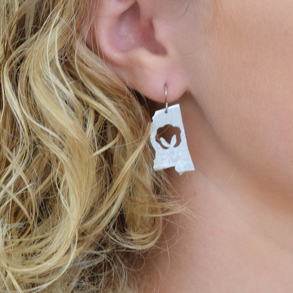 Willcoxon Wearables Earrings-MS with Cotton