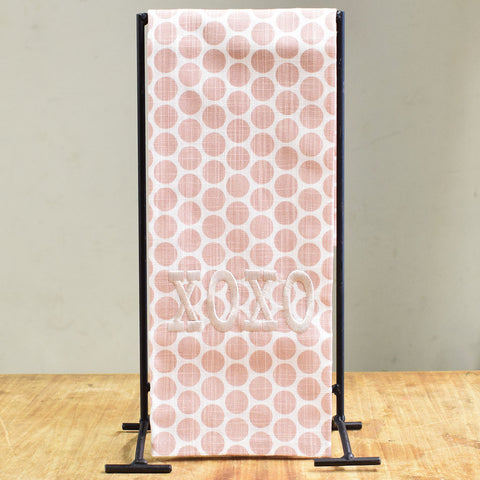 Pink Dots XOXO Towel