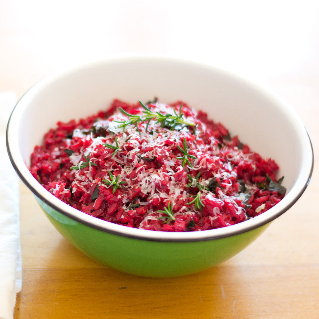 Zero Waste Meal: Beet & Rosemary Risotto